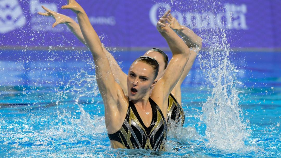 Équipe Canada Halle Pratt natation artistique