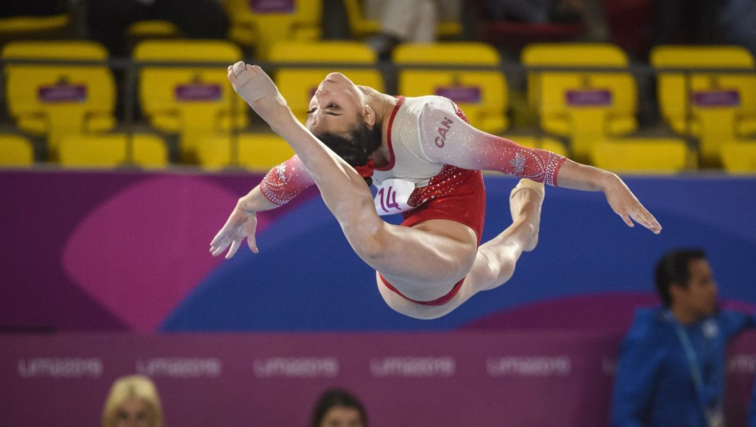 Équipe Canada Brooklyn Moors gymnastique artistique