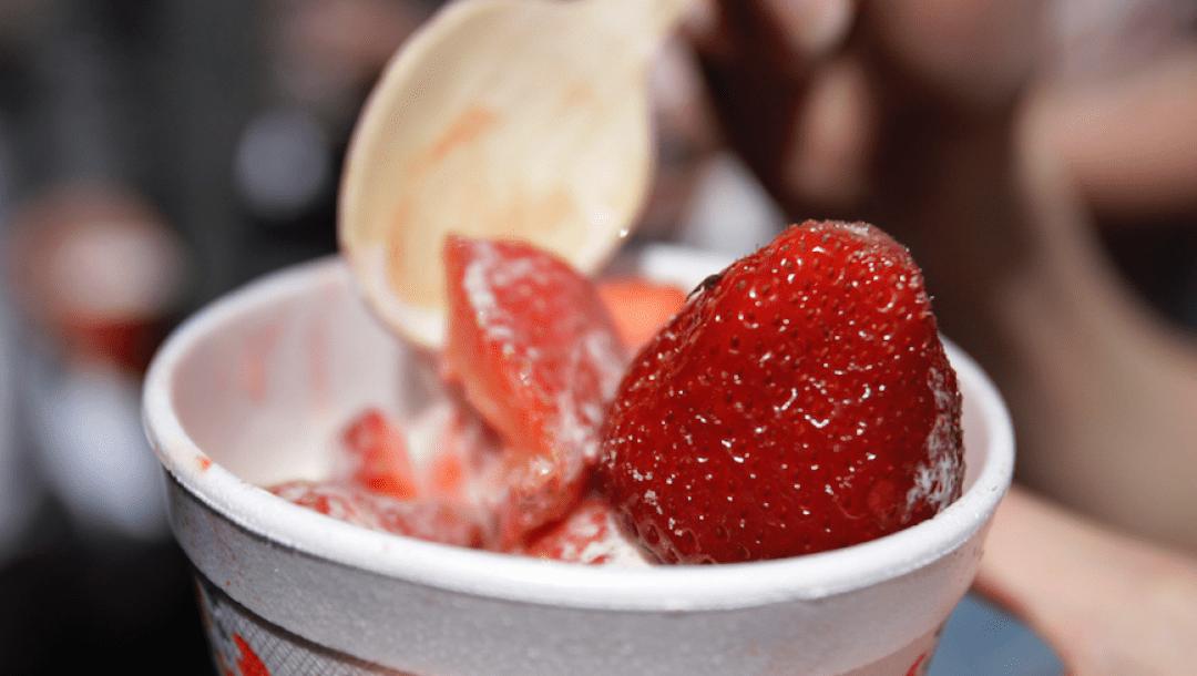 equipe canada - fraises - wimbledon
