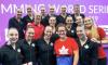 Équipe Canada championne des Séries mondiales de natation artistique FINA