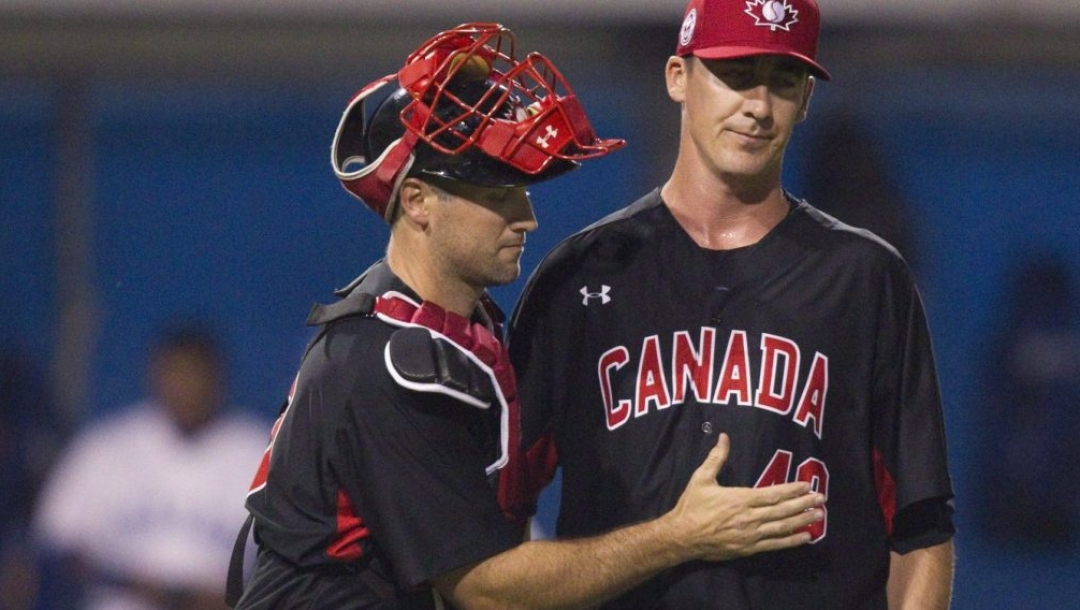 equipe canada - Scott Richmond - baseball