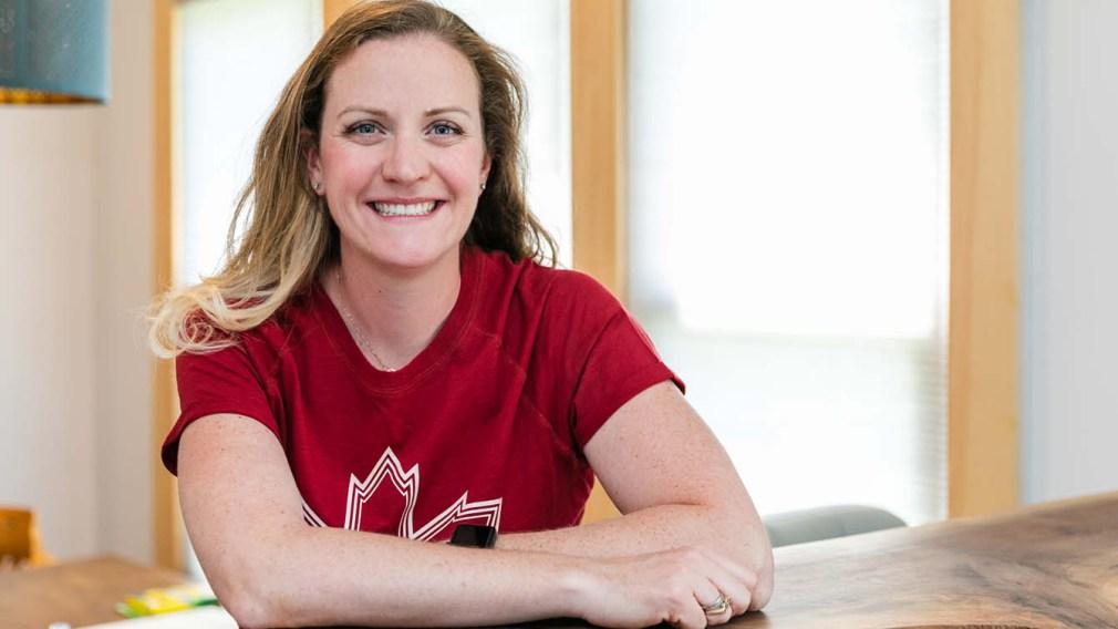 L'Olympienne Annamay Oldershaw a hâte d'expérimenter son nouveau rôle au sein d'Équipe Canada