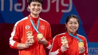 Équipe Canada Joshua Hurlburt-Yu Josephine Wu badminton Lima 2019