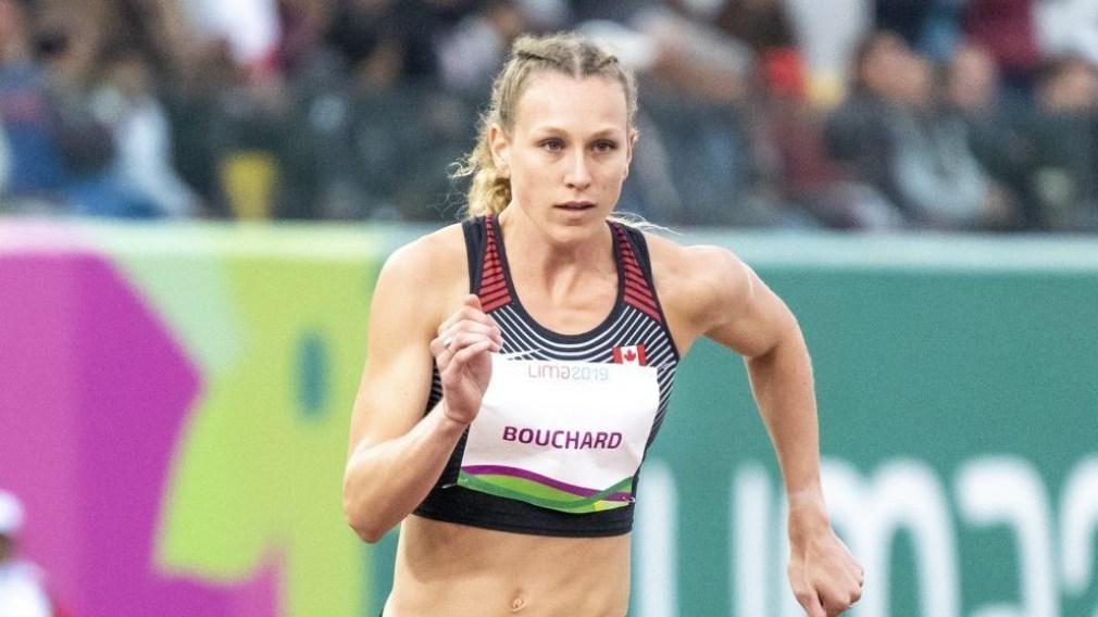 Maïté Bouchard à la course