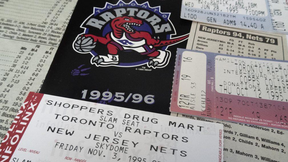 Retour en arrière : Les grands moments du sport canadien survenus l'année où les Raptors sont nés