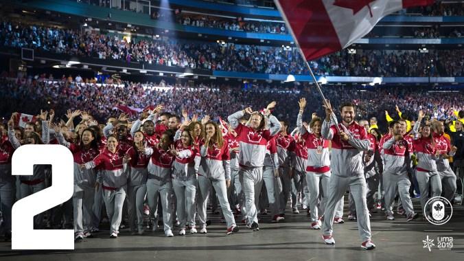 Saviez-vous que le Canada a participé à tous les Pan Am, sauf aux premiers? Nous avons accueilli les 5e, 13e et 17e éditions des Jeux, la dernière à Toronto en 2015, où Équipe Canada a remporté un record de 219 médailles (78 d'or, 70 d'argent, 71 de bronze)!