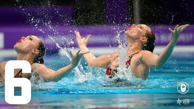 Il y aura plus à gagner que des médailles aux Pan Am! Beaucoup d'athlètes d'Équipe Canada auront l'œil sur un autre gros prix: une qualification olympique. C'est le cas des nageuses artistiques, entre autres, puisque des médailles d'or en équipe et en duo leur donnerait automatiquement des places olympiques pour Tokyo 2020!