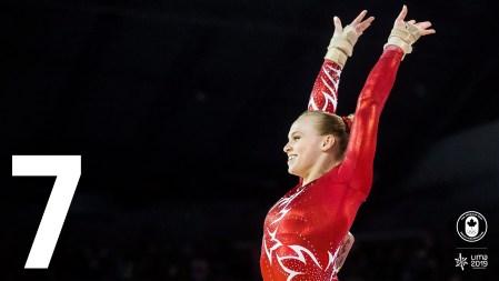 La 👑 de Toronto 2015 sera de retour pour défendre ses 5⃣ médailles! La gymnaste artistique Ellie Black sera en action lors de la première semaine des Jeux de Lima. 🤸♀️