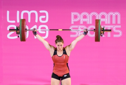 Maude Charron pendant Lima 2019