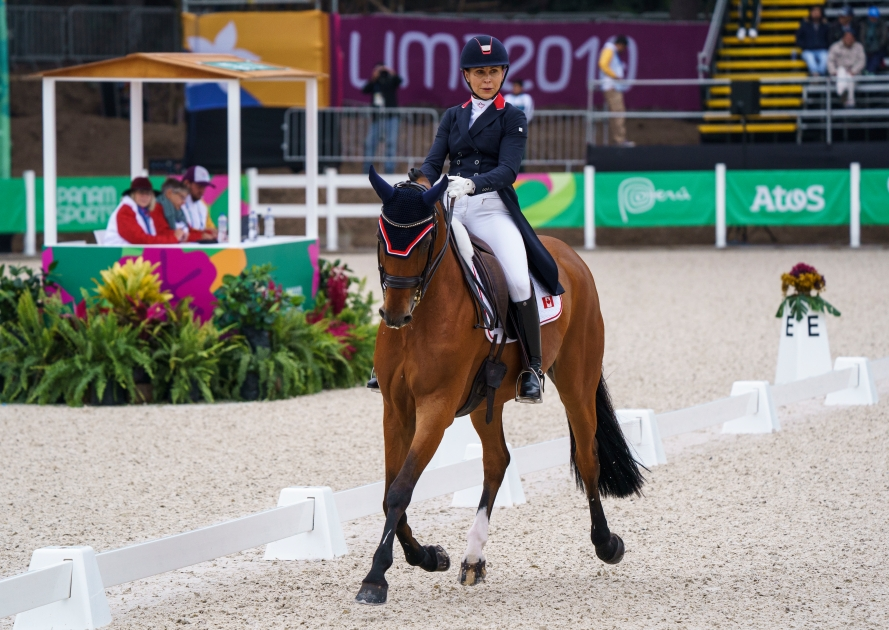 Équipe Canada Jill Irving sports équestres Lima 2019