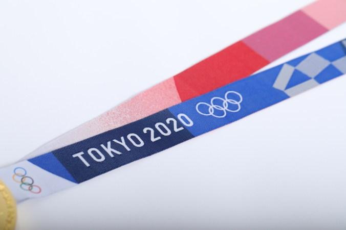Le ruban des médailles de Tokyo 2020