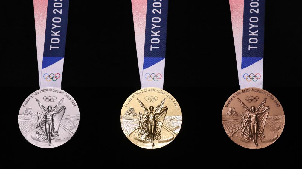 Les médailles des Jeux de Tokyo dévoilées