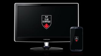 Club olympique canadien présenté par Bell – Fond d'écran noir