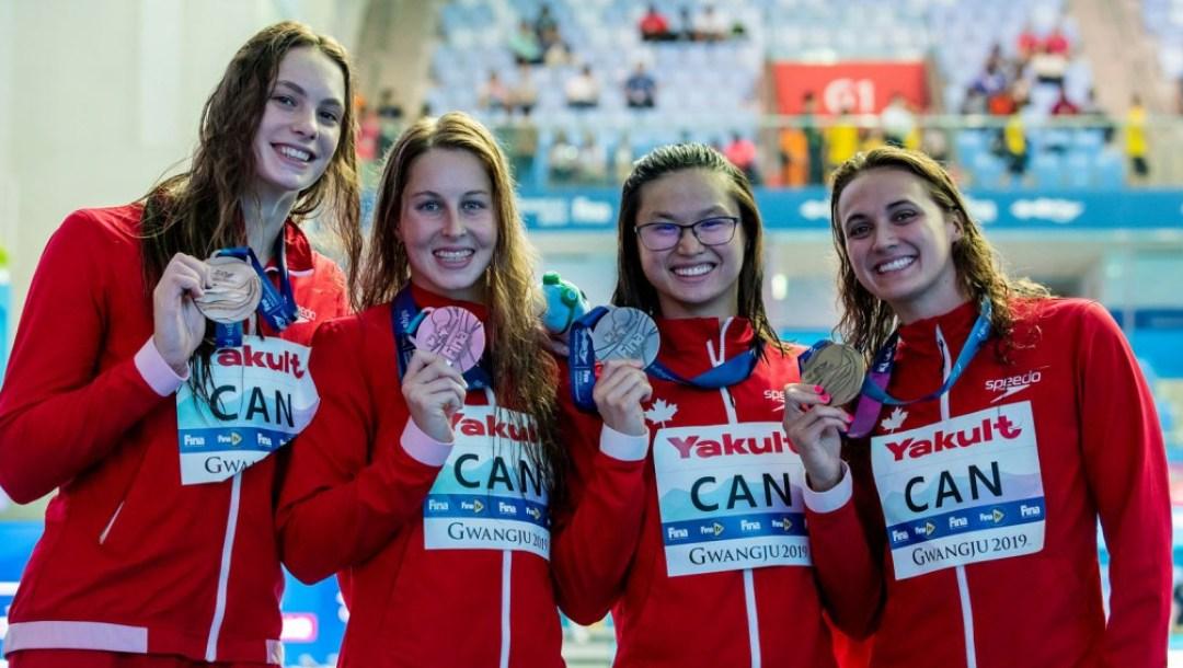 equipe canada - relais- championnats du monde