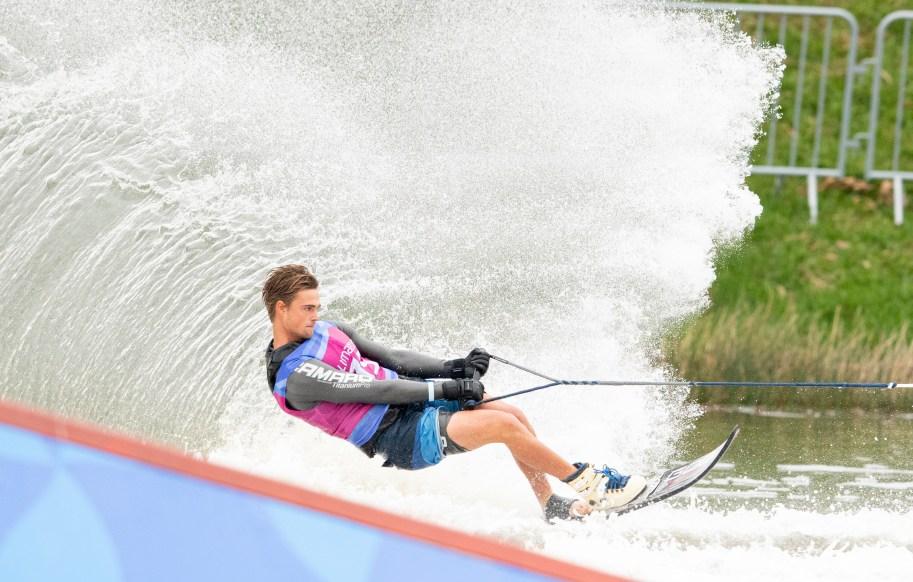 Équipe Canada Dorien Llewellyn Lima 2019 ski nautique