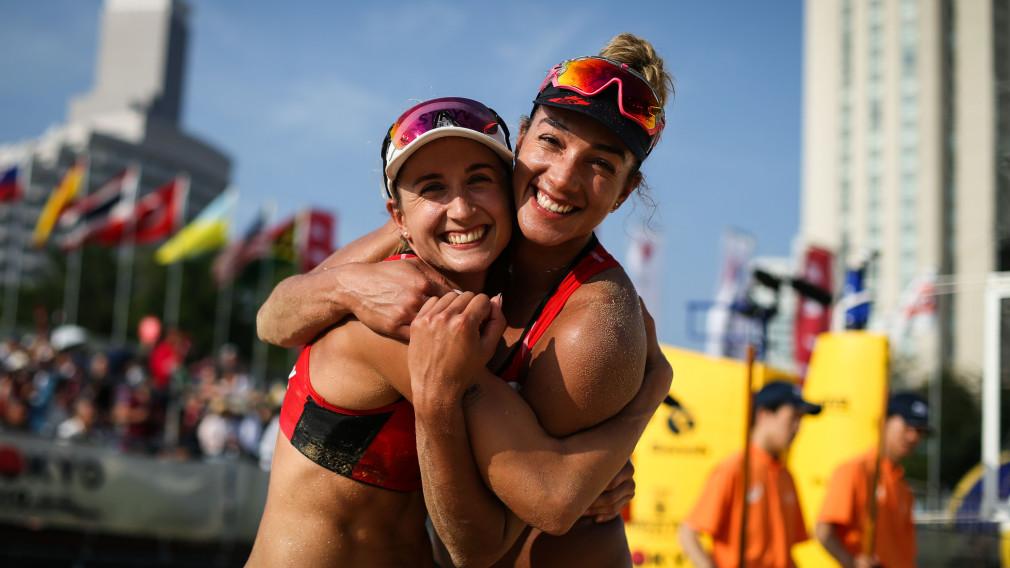 Bansley et Wilkerson remportent le bronze à l'épreuve test pour Tokyo 2020