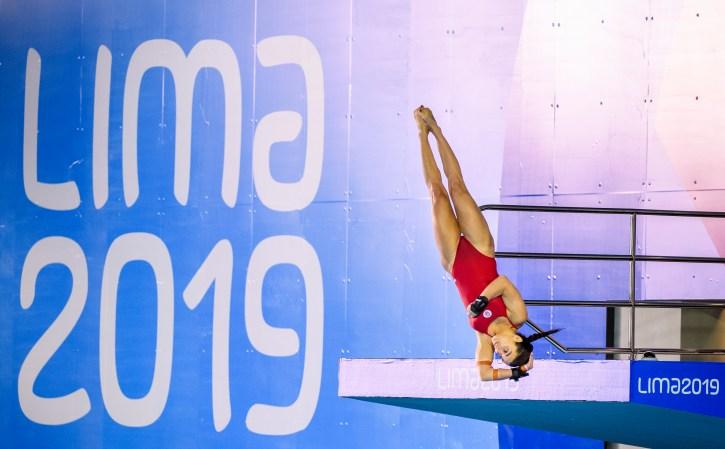 Meaghan Benfeito plonge à Lima 2019