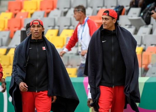 Pierce Lepag et Damian Warner à Lima 2019