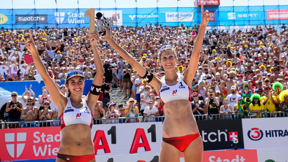 Pavan et Humana-Paredes remportent l'or à Vienne