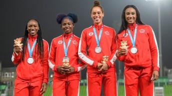 Equipe Canada-Christopher Spring-Lascelles Brown-Bryan Barnett-Neville Wright-Pyeongchang 2018