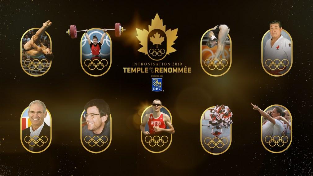 La cuvée 2019 du Temple de la renommée olympique du Canada dévoilée
