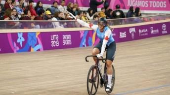 Équipe Canada Kelsey Mitchell Cyclisme sur piste