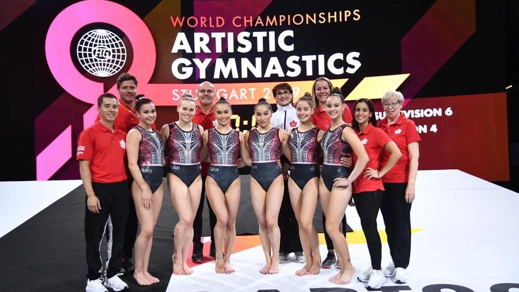 L'équipe féminine de gymnastique artistique qualifiée pour Tokyo 2020