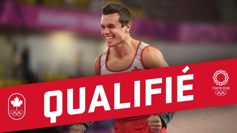 Mise à jour olympique : Le gymnaste René Cournoyer a son billet pour Tokyo 2020!
