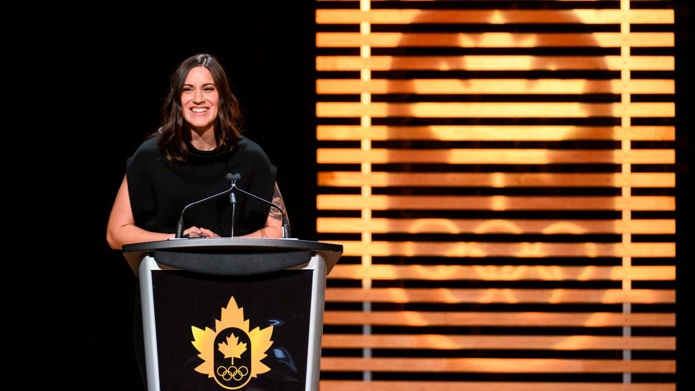 L'Olympienne Mary Spencer remporte le Prix Randy Starkman 2019