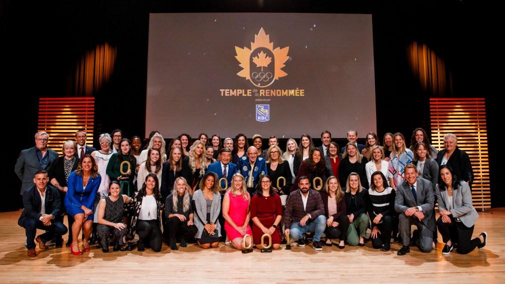 La cuvée 2019 d'Équipe Canada intronisée au Temple de la renommée olympique du Canada