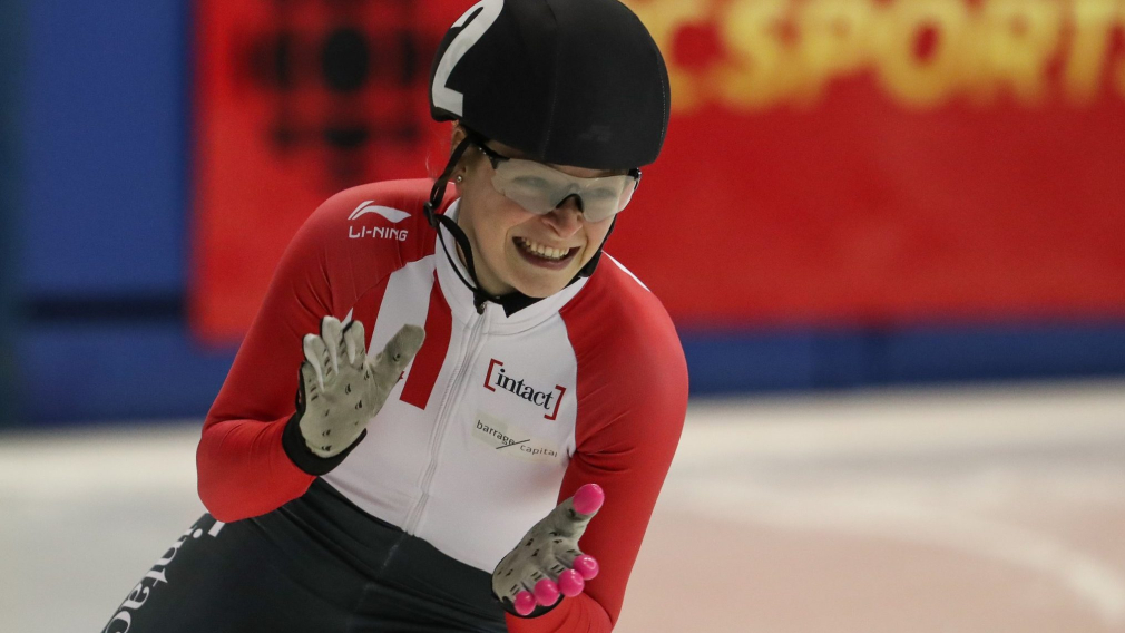 Kim Boutin remporte l'or à Salt Lake City