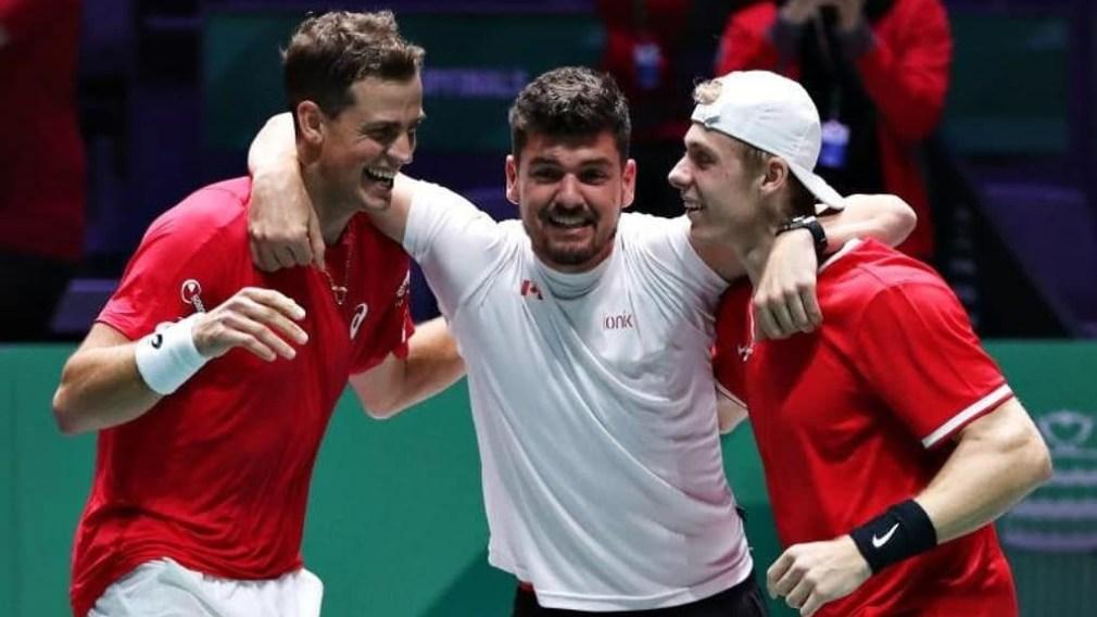 Mise à jour olympique : Le Canada marque l'histoire à la finale de la Coupe Davis