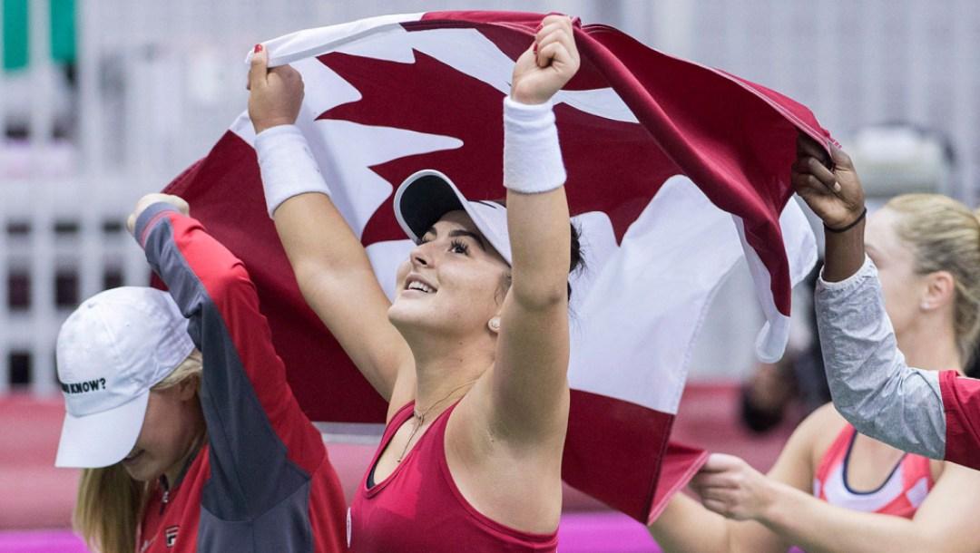 Équipe Canada Bianca Andreescu Coupe Fed 2018