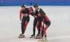 Courte piste : Trois médailles de plus à Shanghai, dont l'or au relais féminin