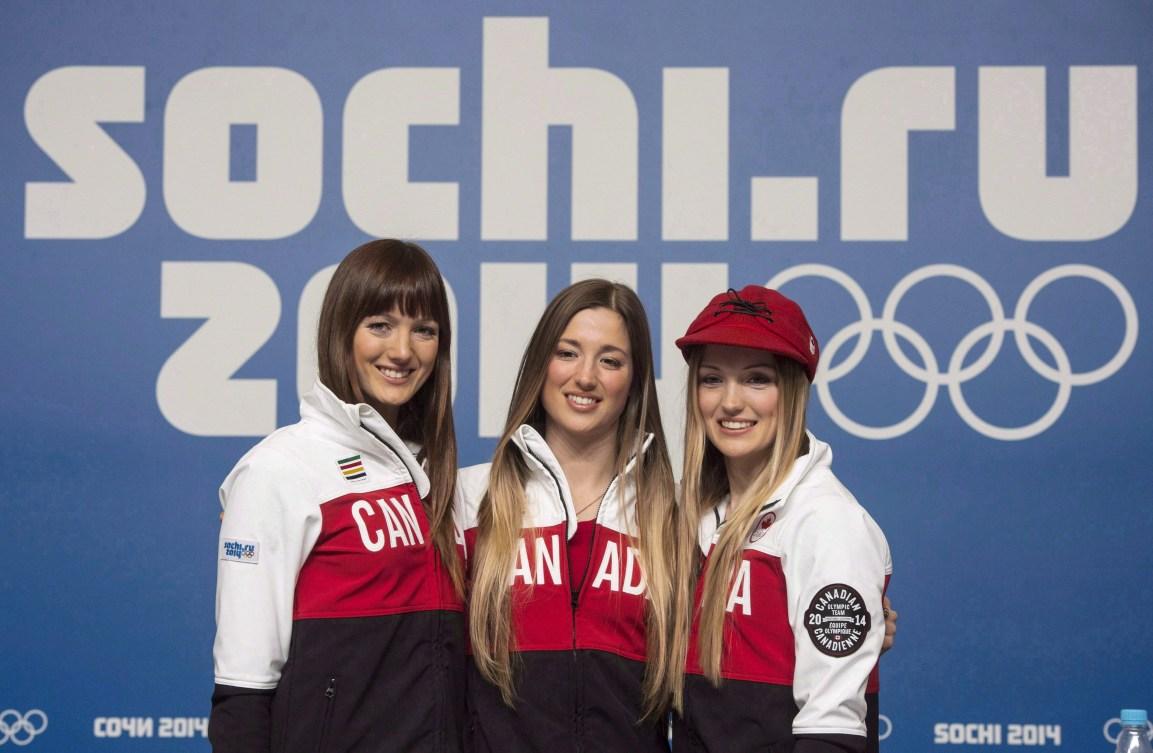 Maxime, Chloé et Justine Dufour-Lapointe