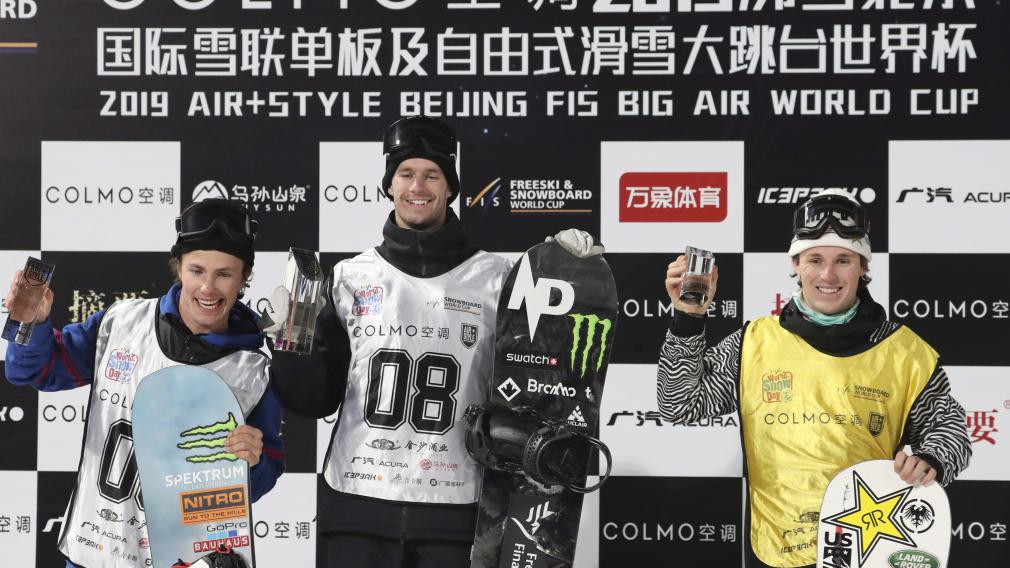 Max Parrot remporte l'or, Laurie Blouin s'empare du bronze à la Coupe du monde FIS de big air
