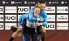 Cyclisme sur piste: Mitchell et Genest remportent l'or au sprint par équipe