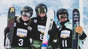 Podium de ski slopestyle