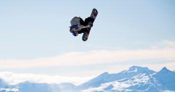 Sébastien Toutant lors d'un saut