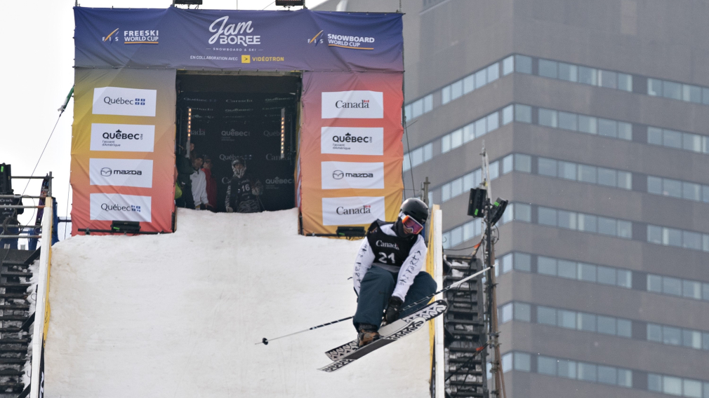 Mark Hendrickson remporte sa première médaille d'or en Coupe du monde de slopestyle