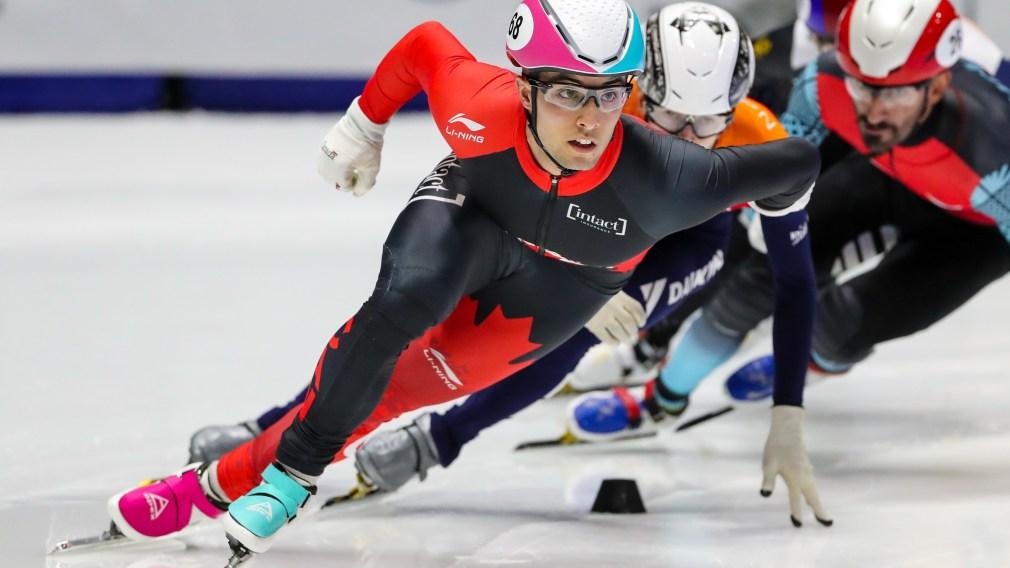 Médaille d'argent pour Cédrik Blais à la Coupe du monde de patinage de vitesse courte piste