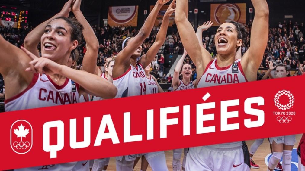 Déjà qualifié pour Tokyo, le Canada termine le tournoi de qualification olympique de basketball féminin avec une victoire