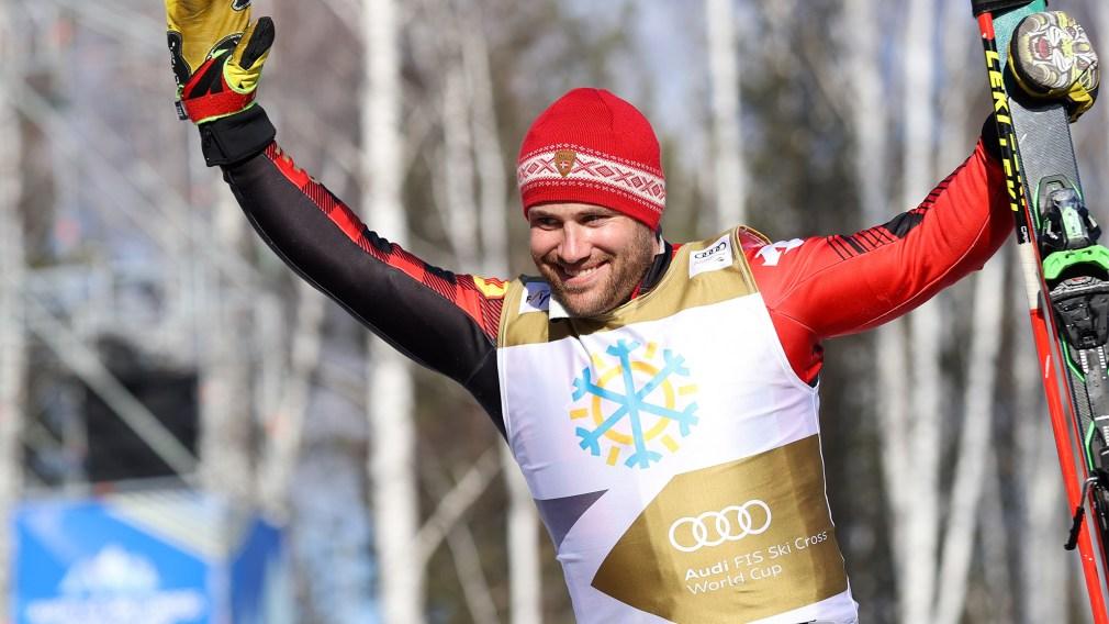 Kevin Drury skie jusqu'à l'argent à Sunny Valley