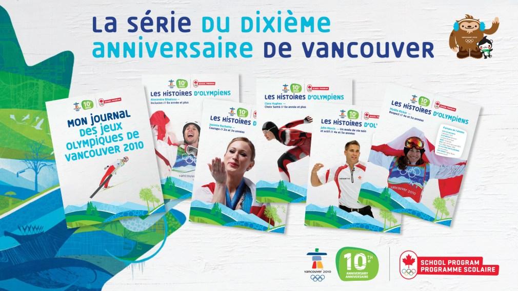 La série du 10e anniversaire de Vancouver 2010