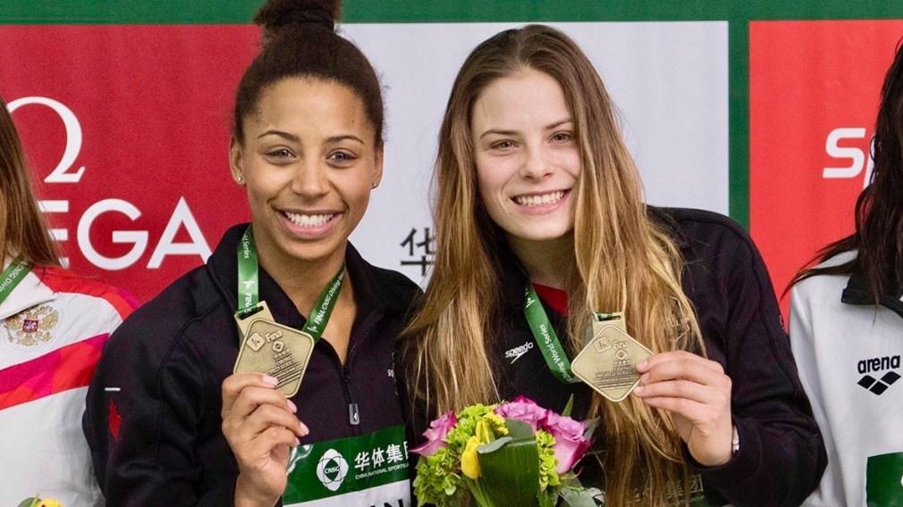 Mise à jour olympique : Équipe Canada démarre la saison de plongeon avec six médailles d'or
