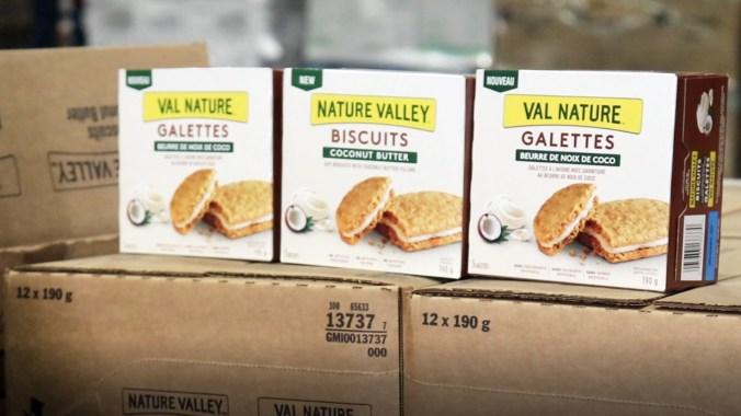 Biscuits au beurre de noix de coco Val Nature. (MOISSON MONTRÉAL/ALEXANDRA GRENIER)