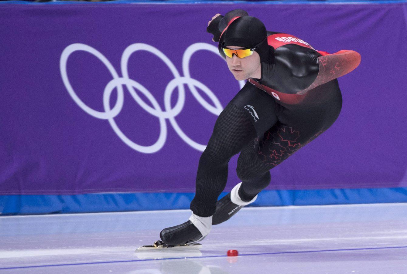 Vincent De Haître en action à PyeongChang 2018
