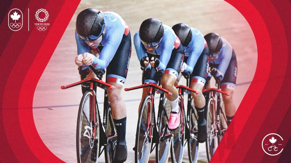 Les cyclistes sur piste et sur route sont les premiers athlètes d'Équipe Canada à être nommés pour Tokyo 2020