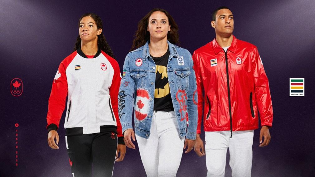 La Baie d'Hudson et Équipe Canada dévoilent la collection officielle Tokyo 2020