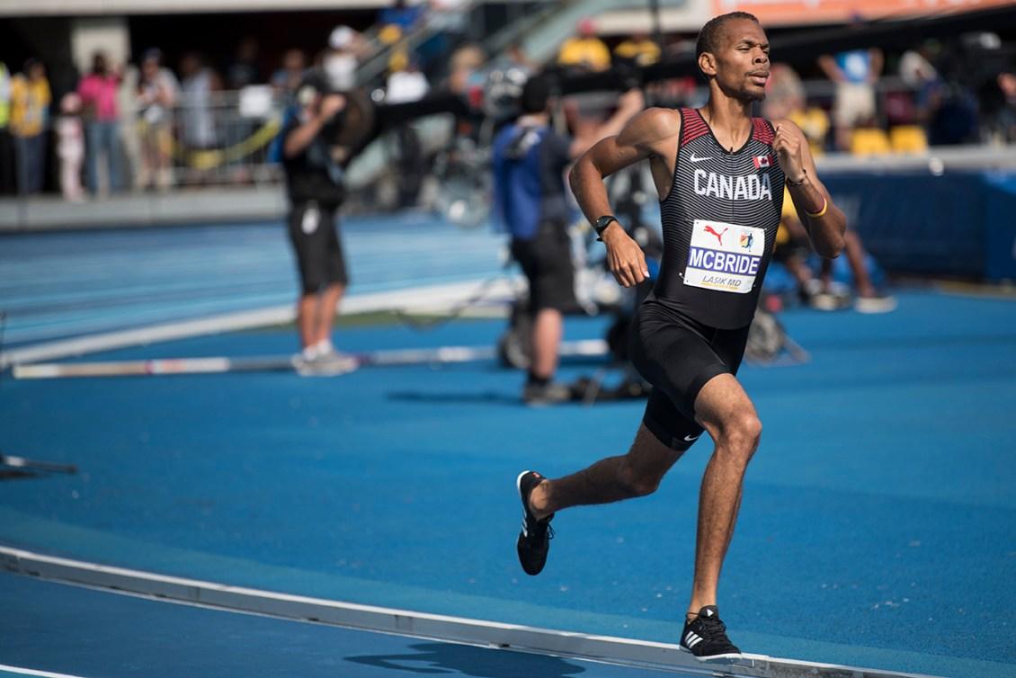 Brandon McBride coure